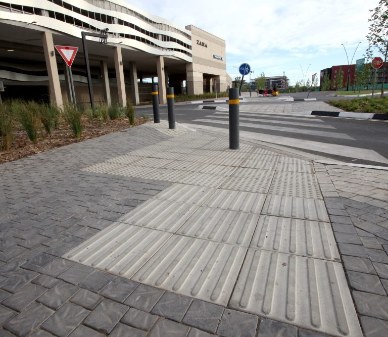 SmartStone Directional walkway at Mall of Africa - Completed SmartStone Projects