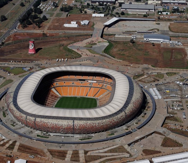 Smarstone products installed at Soccer City