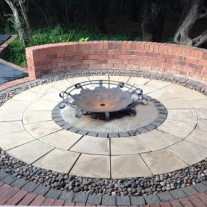 Entertainment designed with SmartStone Products Paving Applications