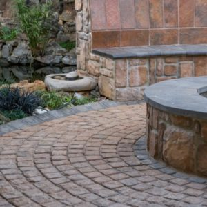 Outdoor Living Area Paving