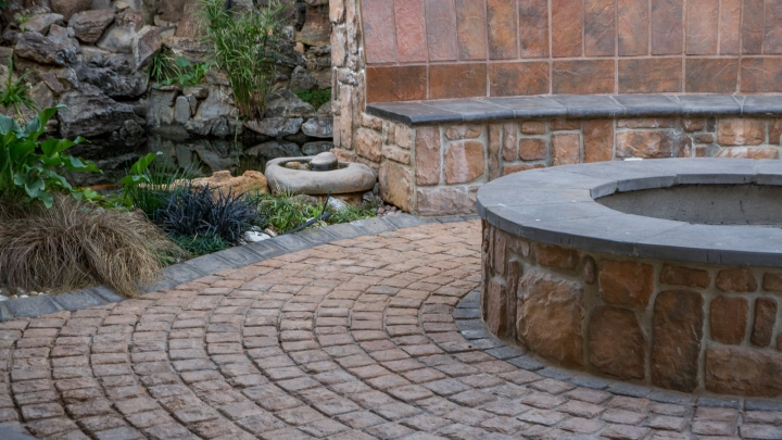 Entertainment Areas created with SmartStone Products