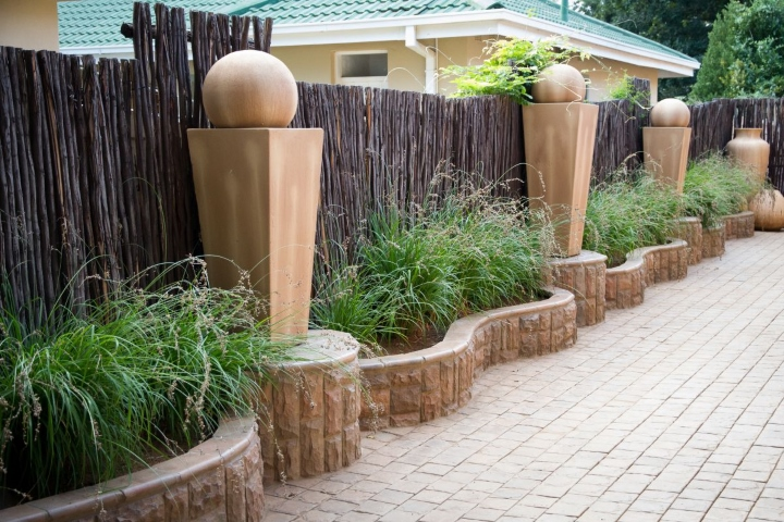 Landscaping designed with SmartStone Products
