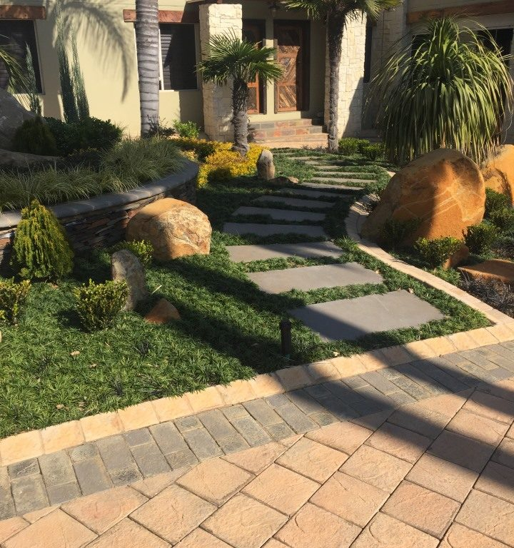 Walkway designed with SmartStone Products Walkway And Entrance Paving Ideas