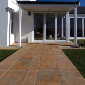 Walkways designed with SmartStone Products Walkway And Entrance Paving Ideas