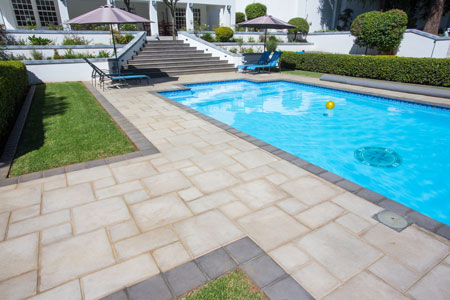 Pool Surround Paving and Coping