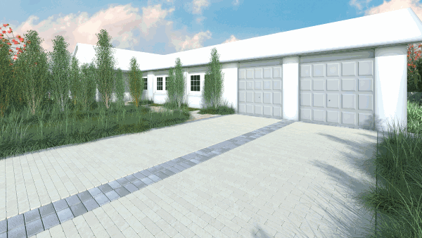 Contemporary Paving Drawing 1 Contemporary Paving Ideas